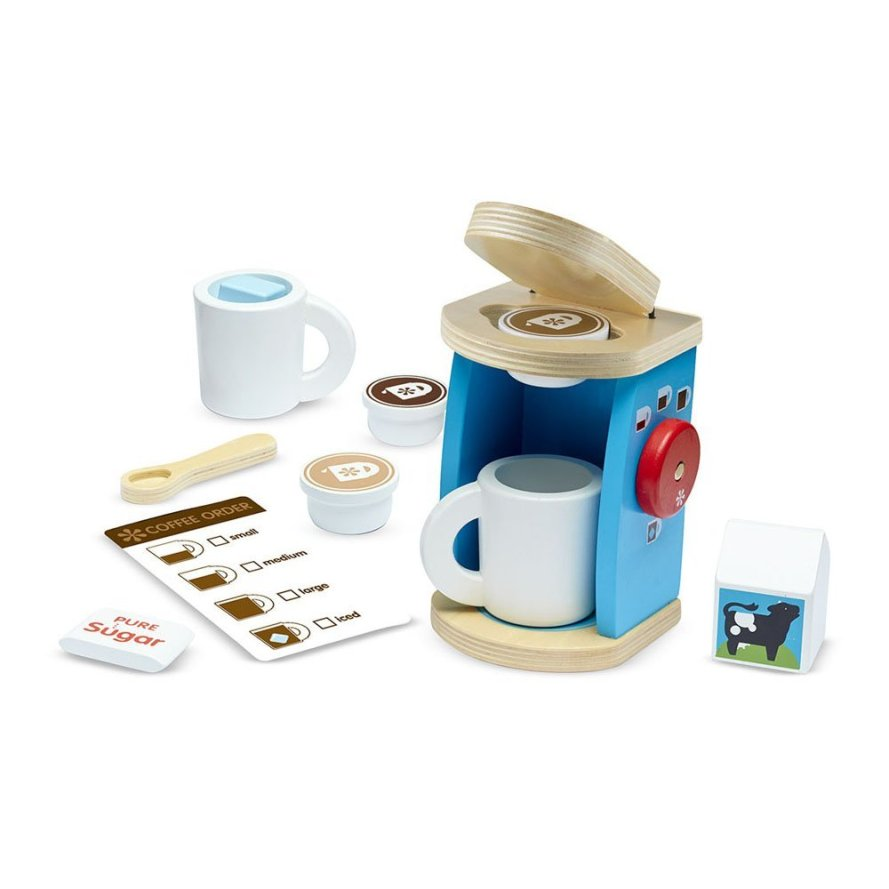 Melissa & Doug 11-Piece Brew and Serve Wooden Coffee Maker Set.jpg
