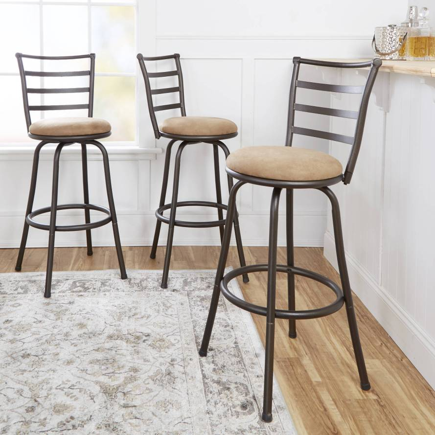 Set of 3 Mainstays Adjustable-Height Swivel Barstool.jpeg
