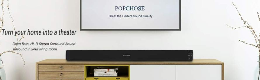 Popchose sound bar